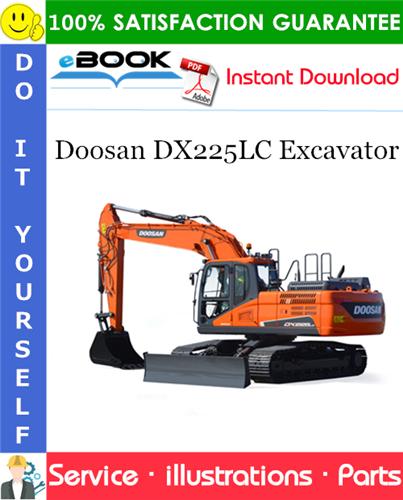 Thumbnail ☆☆ Best ☆☆ Doosan DX225LC Excavator Parts Manual