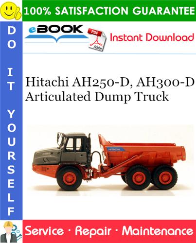 Thumbnail ☆☆ Best ☆☆ Hitachi AH250-D, AH300-D Articulated Dump Truck Service Repair Manual