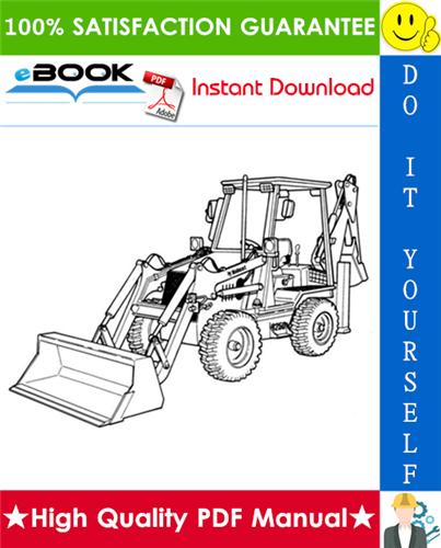 Thumbnail ☆☆ Best ☆☆ Bobcat B250 B-Series Loader Backhoe Operation & Maintenance Manual