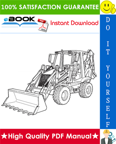 Thumbnail ☆☆ Best ☆☆ Bobcat B300 Loader Backhoe Operation & Maintenance Manual