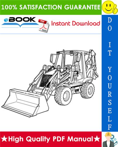Thumbnail ☆☆ Best ☆☆ Bobcat B300 B-Series Loader Backhoe Operation & Maintenance Manual