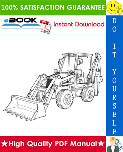 Thumbnail ☆☆ Best ☆☆ Ingersoll-Rand BL-275 B-Series Loader Backhoe Operation & Maintenance Manual