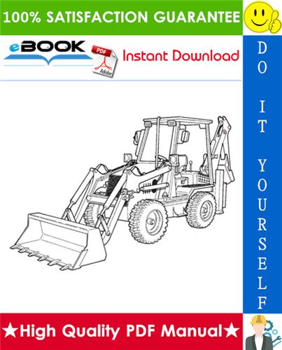 Thumbnail ☆☆ Best ☆☆ Ingersoll-Rand BL-370, BL-375 Loader Backhoe Operation & Maintenance Manual