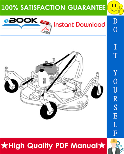 Thumbnail ☆☆ Best ☆☆ Bobcat Mower (60 Gas) Operation & Maintenance Manual