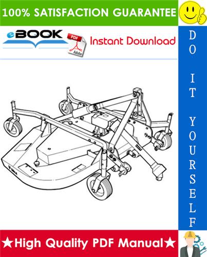 Thumbnail ☆☆ Best ☆☆ Bobcat Three-Point Finish Mower Operation & Maintenance Manual