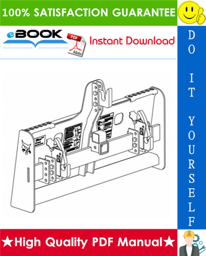 Thumbnail ☆☆ Best ☆☆ Bobcat Three-Point Hitch Adapter Operation & Maintenance Manual