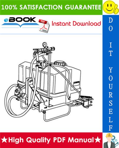 Thumbnail ☆☆ Best ☆☆ Bobcat Three-Point PTO Sprayer Operation & Maintenance Manual