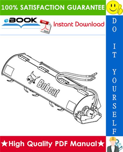Thumbnail ☆☆ Best ☆☆ Bobcat Tiller Operation & Maintenance Manual