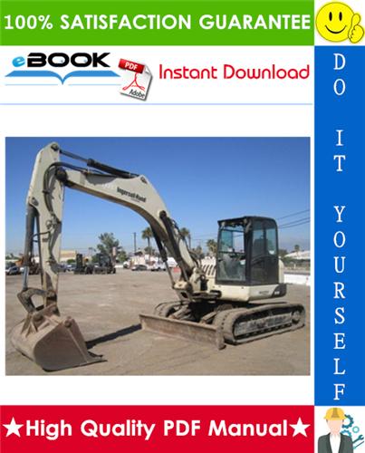 Thumbnail ☆☆ Best ☆☆ Ingersoll-Rand ZX125 Crawler Excavator Operation & Maintenance Manual