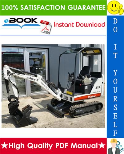 Thumbnail ☆☆ Best ☆☆ Bobcat 319 Excavator Wiring/Hydraulic/Hydrostatic Schematic