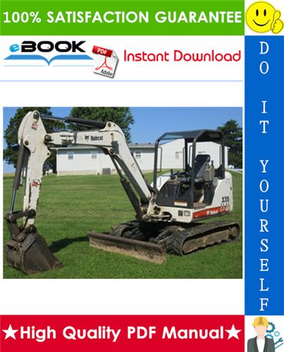 Thumbnail ☆☆ Best ☆☆ Bobcat 335 Excavator Wiring/Hydraulic/Hydrostatic Schematic