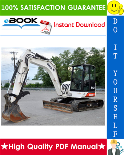 Thumbnail ☆☆ Best ☆☆ Bobcat 442 Excavator Wiring/Hydraulic/Hydrostatic Schematic