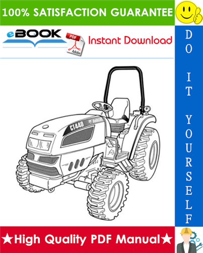 Thumbnail ☆☆ Best ☆☆ Bobcat CT440, CT445, CT450 Compact Tractor Wiring/Hydraulic/Hydrostatic Schematic