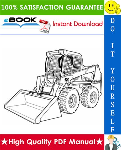 Thumbnail ☆☆ Best ☆☆ Bobcat S630 Skid Steer Loader Wiring/Hydraulic/Hydrostatic Schematic
