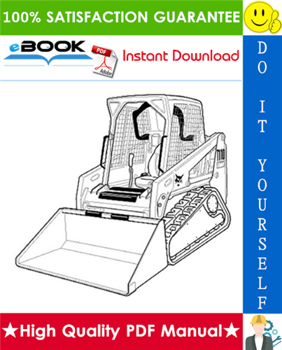 Thumbnail ☆☆ Best ☆☆ Bobcat T110 Compact Track Loader Wiring/Hydraulic/Hydrostatic Schematic