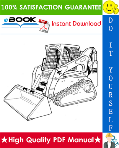 Thumbnail ☆☆ Best ☆☆ Bobcat T320 Compact Track Loader Wiring/Hydraulic/Hydrostatic Schematic