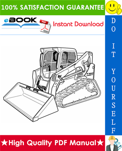 Thumbnail ☆☆ Best ☆☆ Bobcat T650 Compact Track Loader Wiring/Hydraulic/Hydrostatic Schematic