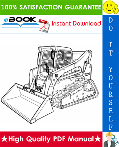 Thumbnail ☆☆ Best ☆☆ Bobcat T770 Compact Track Loader Wiring/Hydraulic/Hydrostatic Schematic