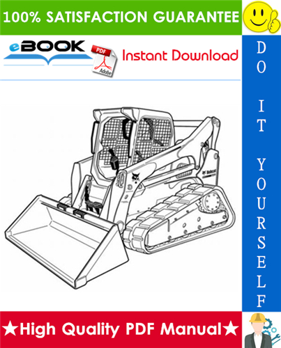 Thumbnail ☆☆ Best ☆☆ Bobcat T870 Compact Track Loader Wiring/Hydraulic/Hydrostatic Schematic