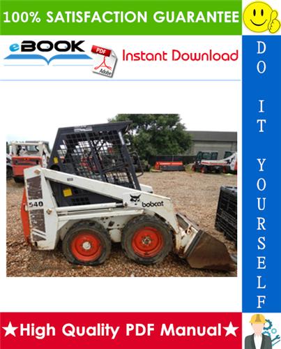 Thumbnail ☆☆ Best ☆☆ Bobcat 540, 543, 543B Skid Steer Loader Service Repair Manual