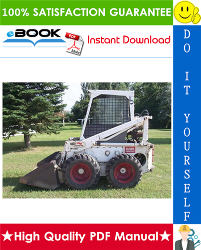 Thumbnail ☆☆ Best ☆☆ Bobcat 600, 600D, 610, 611 Skid Steer Loader Service Repair Manual