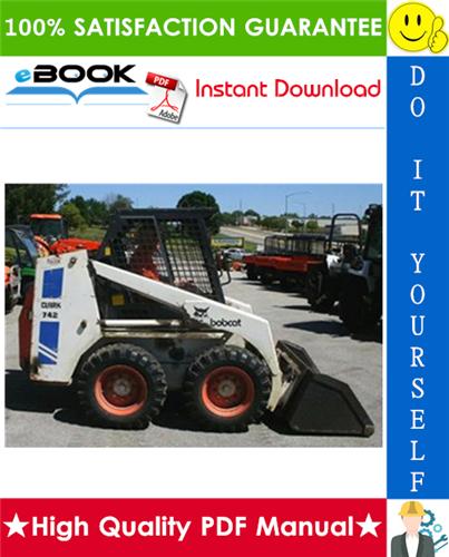 Thumbnail ☆☆ Best ☆☆ Bobcat 742B, 743B Skid Steer Loader Service Repair Manual