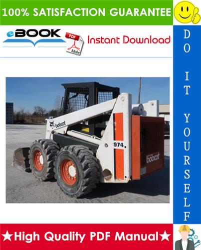 Thumbnail ☆☆ Best ☆☆ Bobcat 974, 975 Skid Steer Loader Service Repair Manual