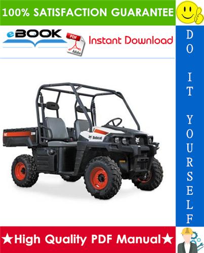 Thumbnail ☆☆ Best ☆☆ Bobcat 3200 Utility Vehicle Service Repair Manual