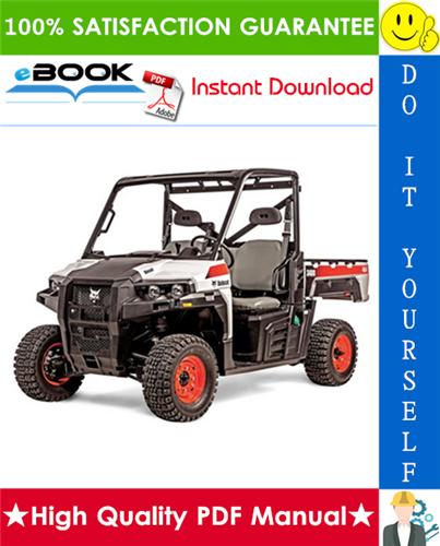 Thumbnail ☆☆ Best ☆☆ Bobcat 3400, 3400XL Utility Vehicle Service Repair Manual