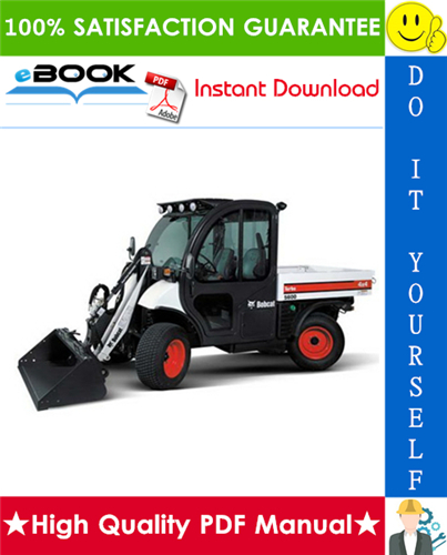 Thumbnail ☆☆ Best ☆☆ Bobcat Toolcat 5600 Utility Work Machine Service Repair Manual