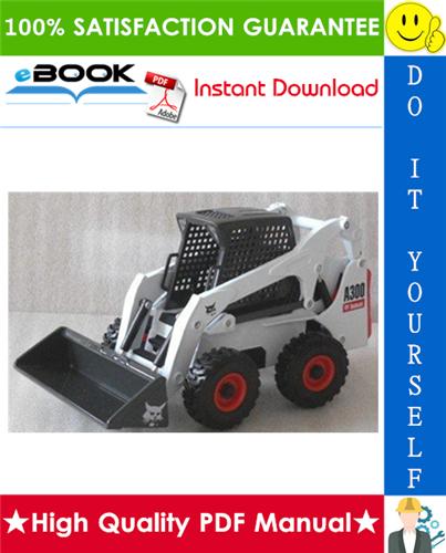 Thumbnail ☆☆ Best ☆☆ Bobcat A300 Turbo Skid Steer Loader Service Repair Manual