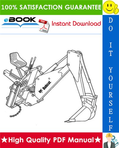 Thumbnail ☆☆ Best ☆☆ Bobcat Backhoe Service Repair Manual #2