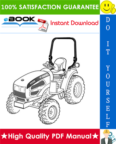 Thumbnail ☆☆ Best ☆☆ Bobcat CT225, CT230 Compact Tractor Service Repair Manual (S/N A59B11001 & Above, S/N A59C11001 & Above)