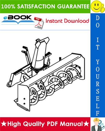 Thumbnail ☆☆ Best ☆☆ Bobcat Snow Blower Model 1412, Model 1812, Model 2118, Model 2418 Service Repair Manual