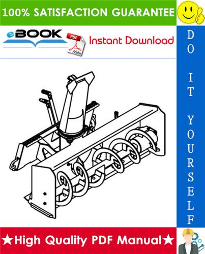 Thumbnail ☆☆ Best ☆☆ Bobcat Snowblower Service Repair Manual