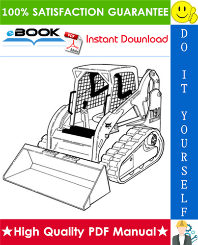 Thumbnail ☆☆ Best ☆☆ Bobcat T190 Turbo, T190 Turbo High Flow Compact Track Loader (G Series) Service Repair Manual