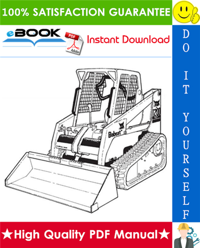 Thumbnail ☆☆ Best ☆☆ Bobcat T200 Turbo, T200 Turbo High Flow Compact Track Loader Service Repair Manual