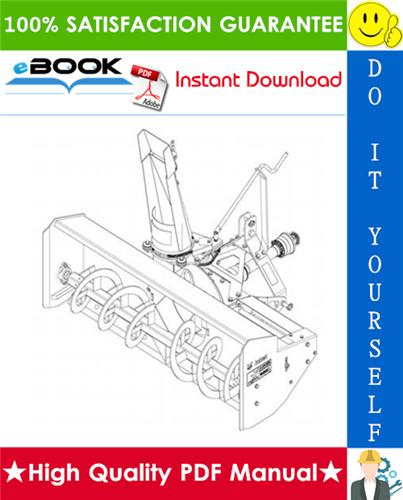 Thumbnail ☆☆ Best ☆☆ Bobcat Three-Point Snow Blower Service Repair Manual