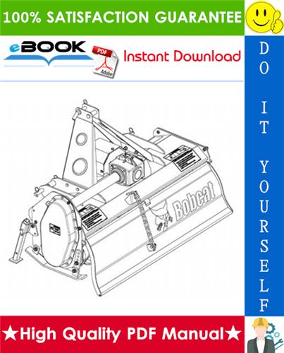 Thumbnail ☆☆ Best ☆☆ Bobcat Three-Point Tiller Service Repair Manual
