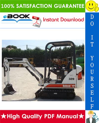 Thumbnail ☆☆ Best ☆☆ Bobcat X320, X322 Excavator Service Repair Manual (S/N: 562313001 & Above, S/N: 517811001 & Above)