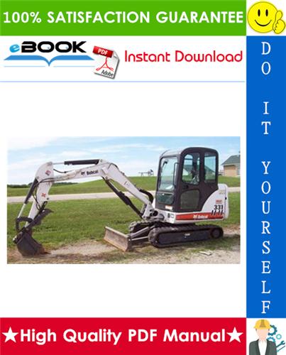 Thumbnail ☆☆ Best ☆☆ Bobcat 331, 331E, 334 Excavator Service Repair Manual (331 - S/N AACS11001 & Above, S/N A9K511001 & Above, 331E - S/N A9K911001 & Above, 334 - S/N A9K711001 & Ab
