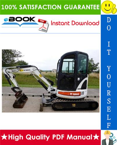 Thumbnail ☆☆ Best ☆☆ Bobcat 425, 428 Compact Excavator Service Repair Manual (425 S/N AACJ11001 & Above, 425 S/N A9K311001 & Above, 428 S/N A9K411001 & Above)