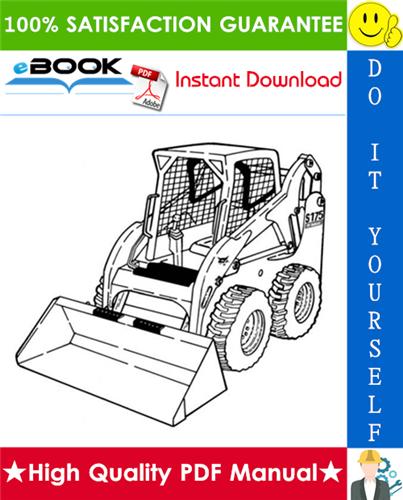 Thumbnail ☆☆ Best ☆☆ Bobcat S175, S185 Turbo (Includes High Flow) Skid-Steer Loader Service Repair Manual