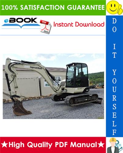 Thumbnail ☆☆ Best ☆☆ Ingersoll Rand ZX75 Utility Equipment Excavator Service Repair Manual