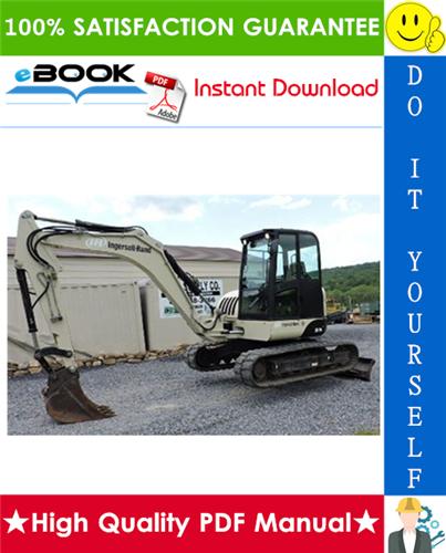 Thumbnail ☆☆ Best ☆☆ Ingersoll Rand ZX75, ZX125 Load Excavator Service Repair Manual