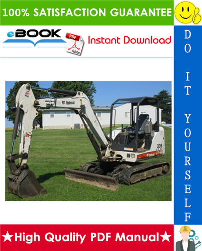 Thumbnail ☆☆ Best ☆☆ Bobcat 335 Compact Excavator Service Repair Manual + Operation & Maintenance Manual + Wiring/Hydraulic/Hydrostatic Schematic