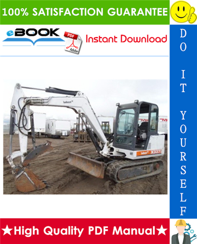 Thumbnail ☆☆ Best ☆☆ Bobcat 337, 341 Compact Excavator Service Repair Manual + Operation & Maintenance Manual + Wiring/Hydraulic/Hydrostatic Schematic