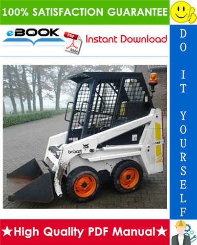 Thumbnail ☆☆ Best ☆☆ Bobcat 440, 443, 443B Skid Steer Loader Service Repair Manual + Operation & Maintenance Manual