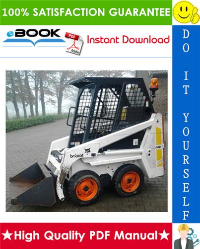 Thumbnail ☆☆ Best ☆☆ Bobcat 440B Skid Steer Loader Service Repair Manual + Operation & Maintenance Manual