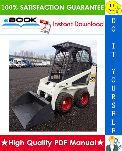 Thumbnail ☆☆ Best ☆☆ Bobcat 453 Skid Steer Loader Service Repair Manual + Operation & Maintenance Manual + Wiring/Hydraulic/Hydrostatic Schematic
